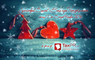 TaxPR Promocja i design Zdrowych i radosnych Świąt